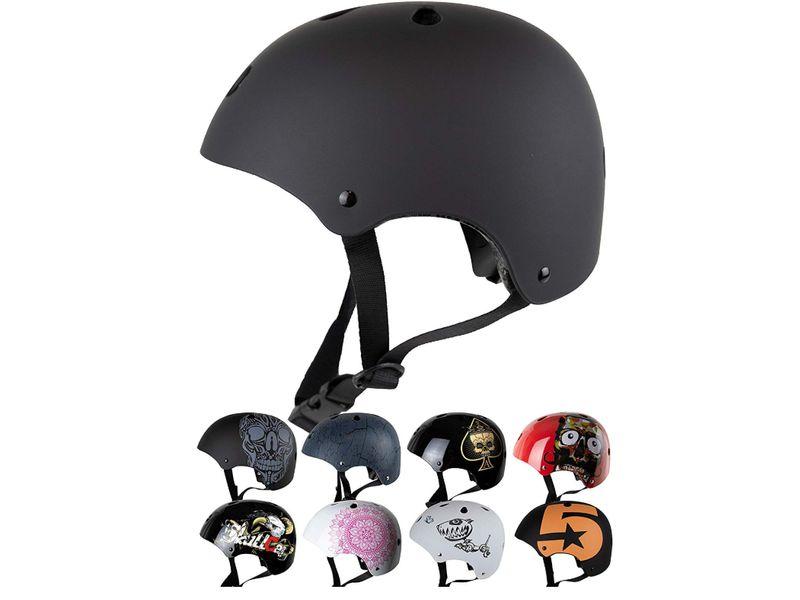 casco sul monopattino elettrico